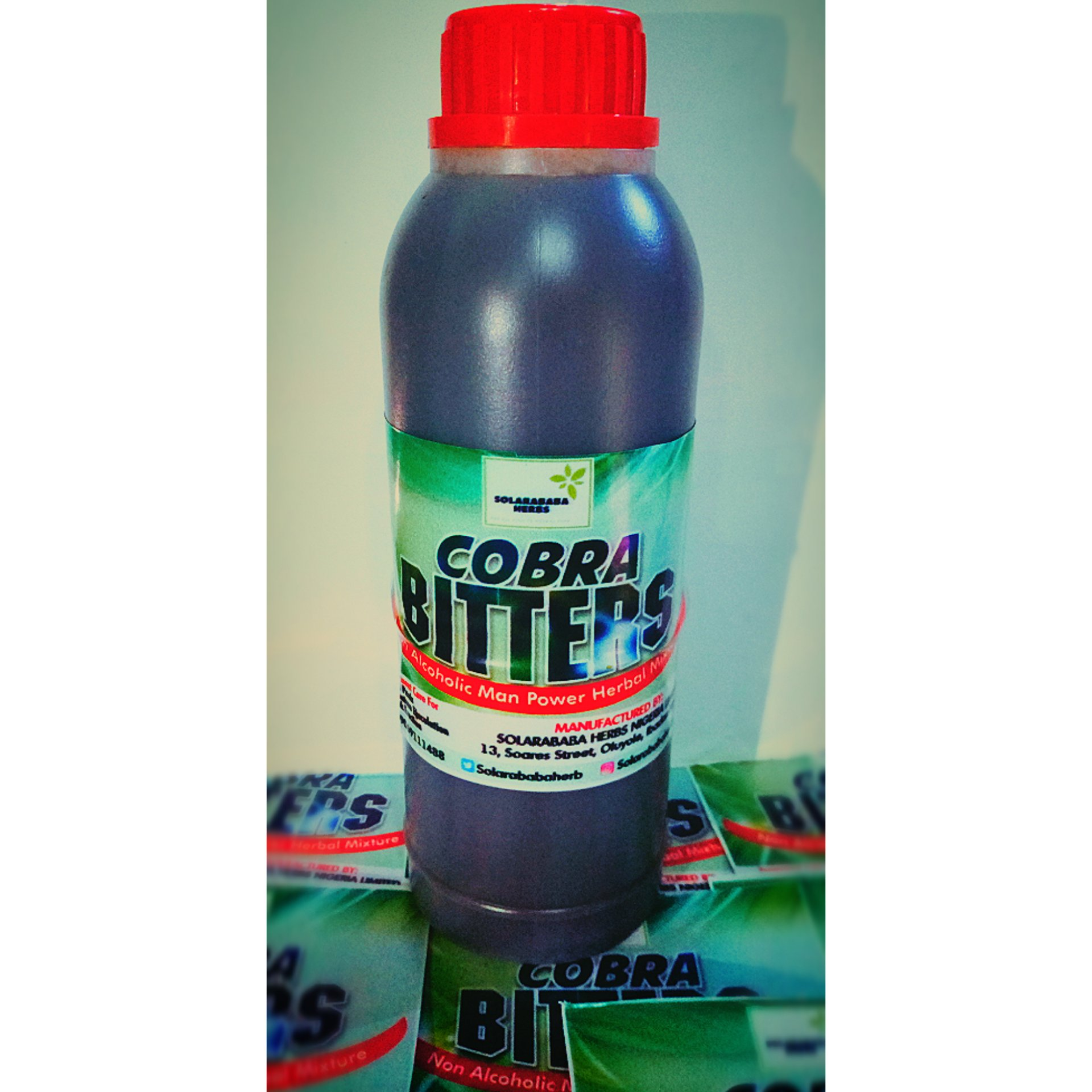 Cobra bitters Herbal Mixture, cure for premature ejaculation and weak erection